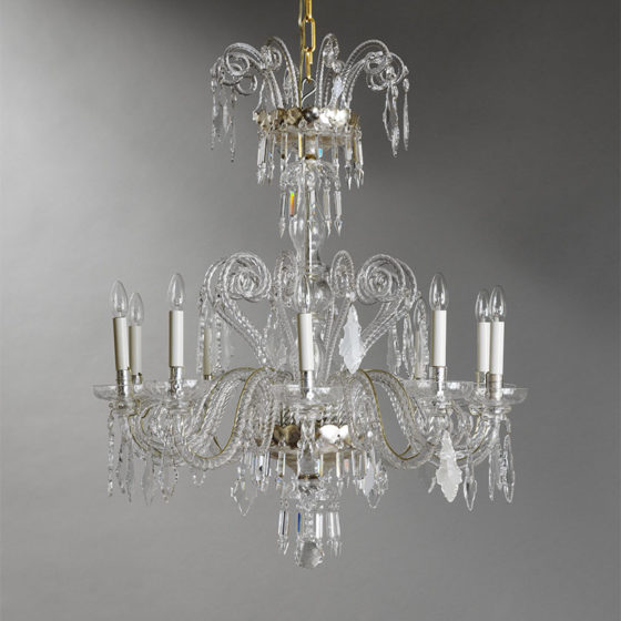 Art. 170/10 • Crystal chandelier • Ø 90, H 105