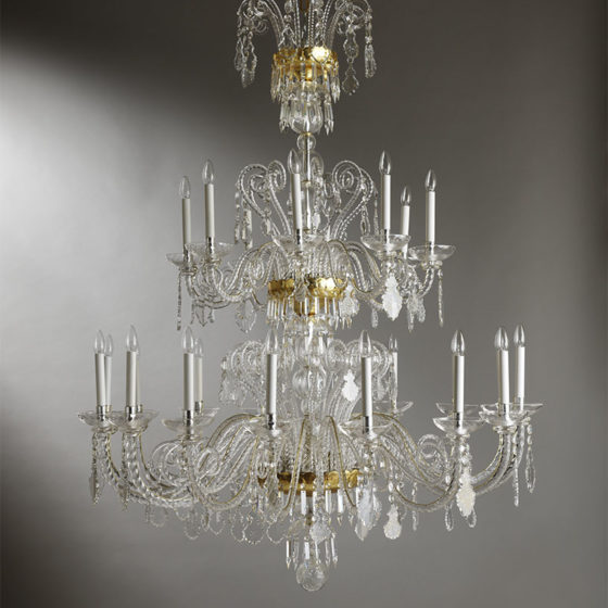Art. 170/24 • Crystal chandelier • Ø 145, H 180