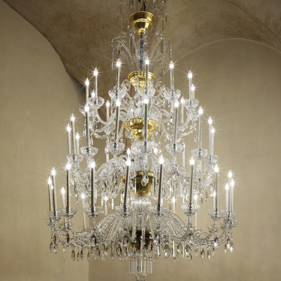 Art. 170/48 • Crystal chandelier • Ø 180, H 270