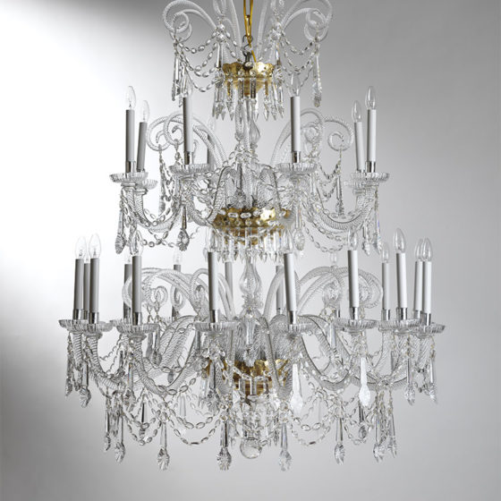 Art. 69/24 • Crystal chandelier • Ø 110, H 140