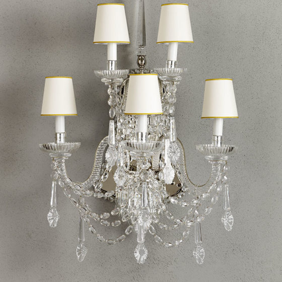 Art. A31/5 • Crystal wall sconce • L 58, H 78