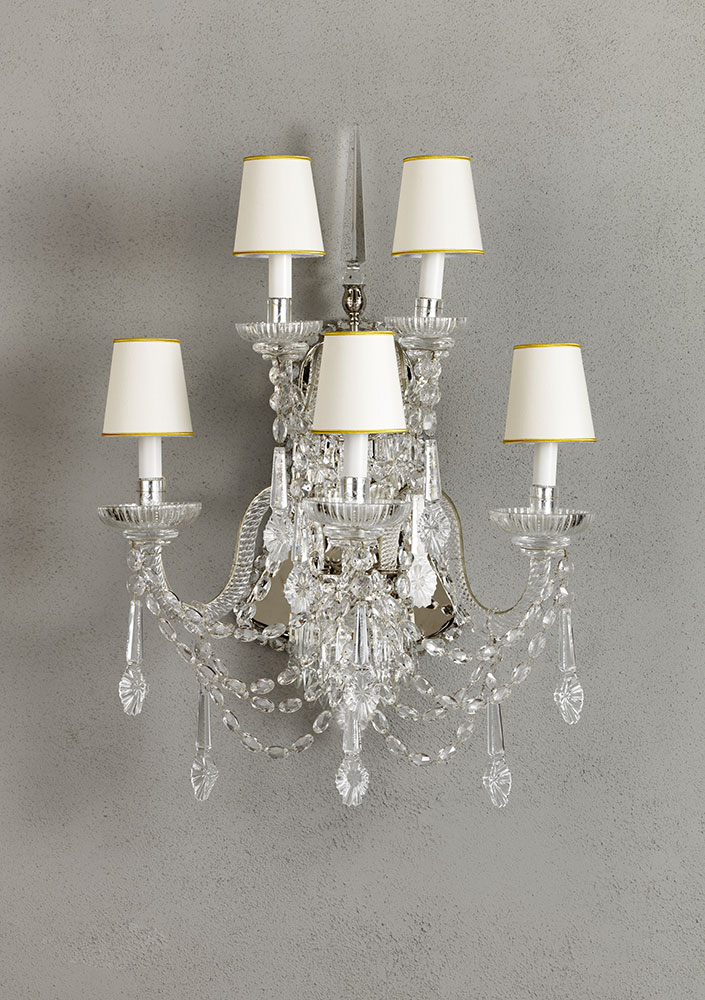 Crystal Wall Sconce L 58 H 78